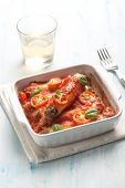 cannelloni with ragout