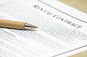 Rental contract