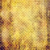 Old antique texture or background. With different color patterns: yellow; brown; beige