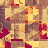 Old-style background, aging texture. With different color patterns: gray; red; orange; brown; yellow