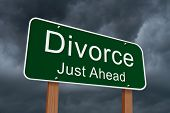 Divorce Just Ahead Sign