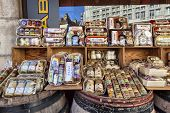 Shopping Bazaars With Varieties Of Mustard In Dijon
