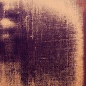 Old, grunge background or ancient texture. With different color patterns: purple (violet); orange; brown; yellow