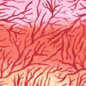 foto of capillary  - Watercolor background with capillaries - JPG
