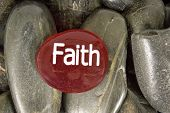 pic of faithfulness  - Red stone says - JPG