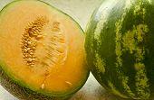 Cantalope  Watermelon