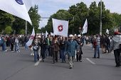 Manifestation in Bucharest Romania