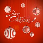 Merry Christmas Quotes And Bubbles