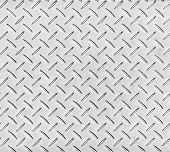 Texture of a metal diamond pattern plate.