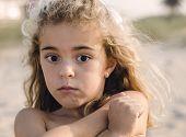 Portrait Of A Shy Girl