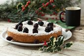 Blackberry Cake And Coffee Mug