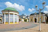 spa town Frantiskovy lazne, Czech republic
