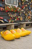 Big Yellow Dutch Clogs