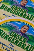 Beermats From Unser Burgerbrau Beer