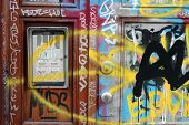 Entrada de graffiti