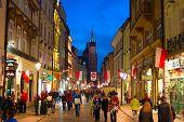 Krakow Old Town Street