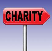 stock photo of generous  - charity fund raising for a good cause raise money to help donate give a generous donation or help with the fundraise gifts  - JPG