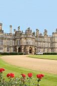 stock photo of medieval  - Burghley House - JPG