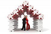 Business Partners - 3D Puzzle House