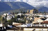 pic of parador  - A view of the town of Ronda in Andalucia - JPG