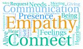 image of empathy  - Empathy word cloud on a white background - JPG