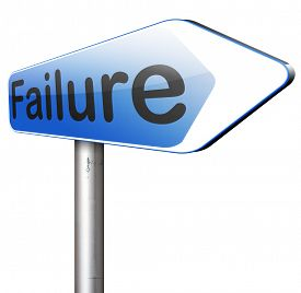 image of fail job  - failure fail exam or attempt can be bad especially when failing an important task or in your study failing an exam - JPG