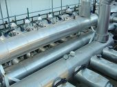 Industrial Pipes And Structures