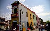 Stock Photo Of Buenos Aries, Argentian, El Caminito St