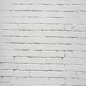 white coloured brick wall