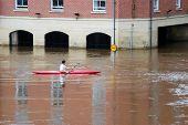 Canoeist In York