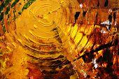 abstrato pintado com acryl