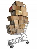 Shopping Cart Shipping Cartons