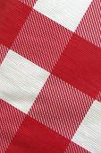 Close Up Of A Picnic Table Cloth