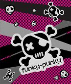 Vector Funky-Punky Illustration