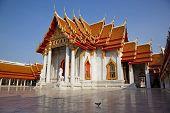 Marble Temple, Wat Benchamabophit, Bangkok, Thailand