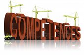 building competences capacities vision skill be skillful an expert or a leader professional and competent