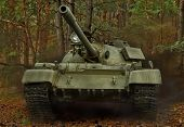 Russian T-55 tank