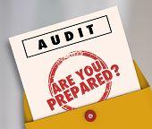 Audit Envelope Are You Prepared 3d Illustration poster