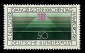 Deutschland-CIRCA 1981: eine Briefmarke gedruckt in Deutschland zeigt Bild der dedizierten The Deutscher Eva