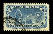 MEXICO-CIRCA 1956: A stamp printed in Mexico shows image of the Don Martin Enriquez de Almanza who w