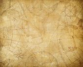 pirates treasure map background illustration poster