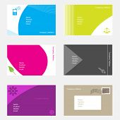Vector - Set of modern and unique business callings cards for your company.