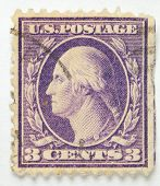 George Washington Postage Stamp 1917-1920