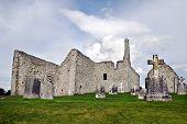 The monastery of Clonmacnoise, Ireland