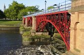 Tidal Weir, River Clyde, Glasgow, Scotland