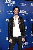 LOS ANGELES - NOV 6:  Tyson Ritter arrives at the Jack and Jill Premiere at Regency Village Theatre on November 6, 2011 in Westwood, CA