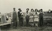 Alte Familienfoto