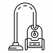 Home Appliance Vacuum Cleaner Icon. Outline Home Appliance Vacuum Cleaner Vector Icon For Web Design poster