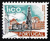 Postage stamp Portugal 1972 Torre dos Clerigos, Porto