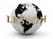 Lesson Abstraction Inscription Around Earth